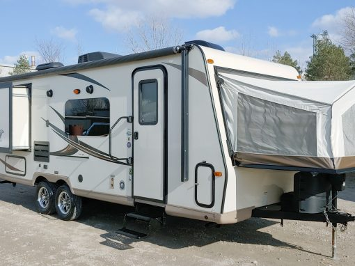 2016 Rockwood Roo 23WS Hybrid Travel Trailer **DOUBLE SLIDES, LITE WEIGHT**