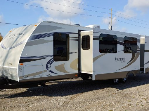 2014 Keystone Passport Elite Ultra Lite 33BH **BUNK MODEL**