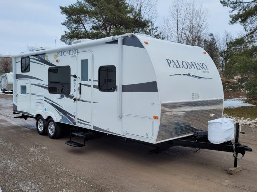2012 Palomino Ultra Lite 26 BHSL Travel Trailer
